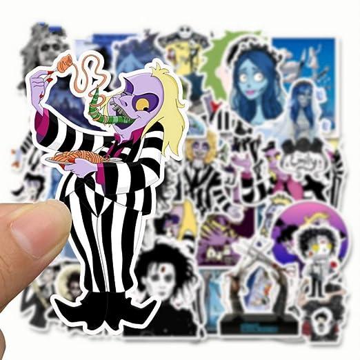 50 Unids Tim Burton Películas de Dibujos Animados Cadáver ...