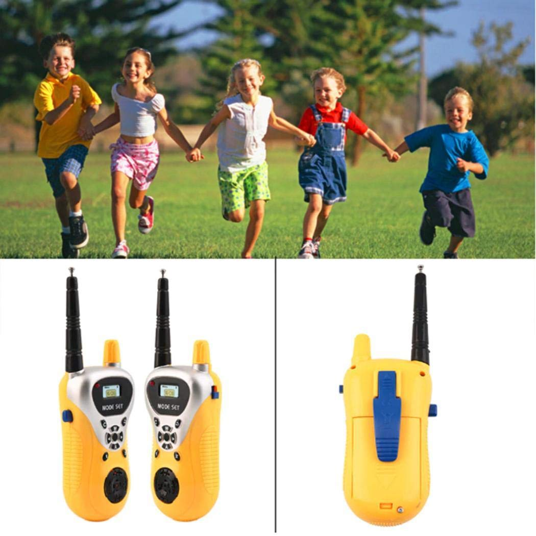 hiriyt Kids Mini Electronic Portable Handheld Two-Ways Radio Walkie Talkie Toy Walkie Talkies by hiriyt (Image #2)