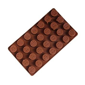 Cadillaps 3D Schokolade Form Pudding DIY Mould Bonbons Kuchenform Tortendekoration