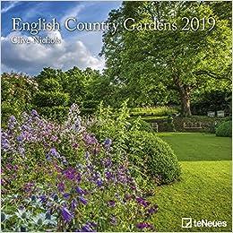 2019 English Country Gardens Calendar - Photography Calendar - 30 x 30 cm