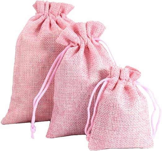 3Pcs//Set Drawstring Sachet Bag Beads Bracelet Jewelry Cloth Storage Pouch Trendy