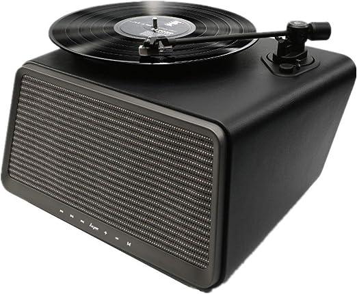 Tocadiscos, Simple de vinilo Smart Record altavoz Bluetooth Modern ...