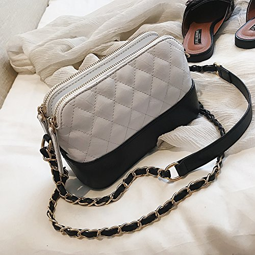 Pequeño Señora popo Bolso Messenger E nbsp; B Bag Justyou Retro Moda Simple Cadena nbsp; De nbsp;gift UqwTndYxnt