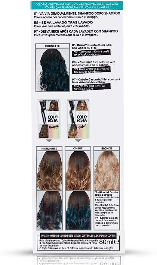 LOréal Paris Colorista Coloración Temporal Colorista Washout - Turquoise Hair