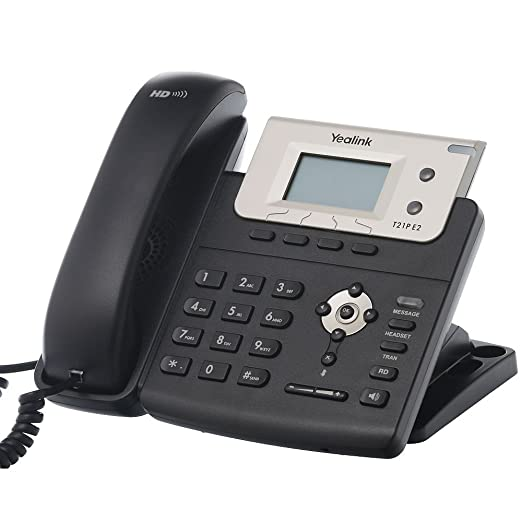 2 opinioni per Yealink SIP-T21P E2 Wired handset LCD Black IP phone- IP phones (LCD, 132 x 64