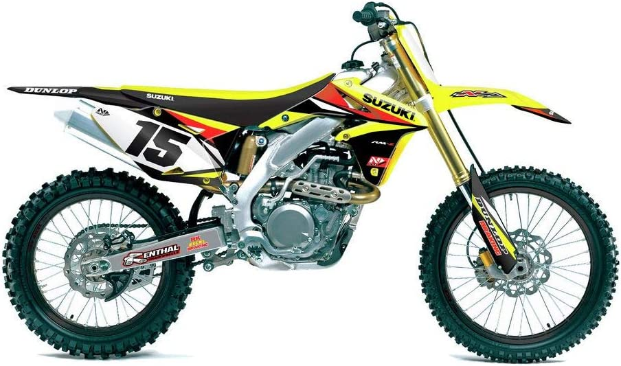 N-Style Impact Graphics Only Suzuki for 07-09 Suzuki RMZ250