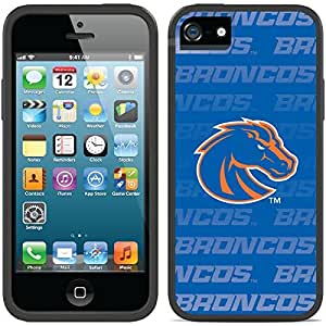Coveroo iPhone 6 plus 5.5 Black Switchback Case with Boise State Repeating Blue Design