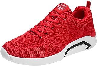 HCFKJ Scarpe Sportive Sneaker Scarpe da Ginnastica da Corsa Sportive da Uomo Sportive Traspiranti Antiscivolo