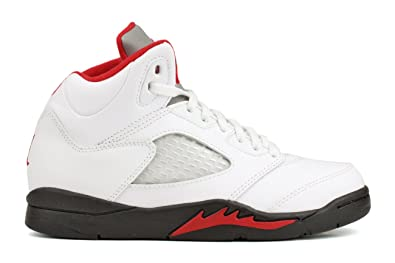 check out a5fe3 8534c buy nike air jordan 5 retro ps boys basketball shoes 440889 100 white 1  cc13d dd9f7