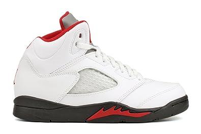 check out a74cf 8c324 buy nike air jordan 5 retro ps boys basketball shoes 440889 100 white 1  cc13d dd9f7