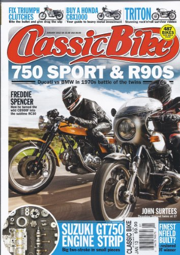 Classic Bike Magazine (January 2013 (750 Sport & R90S))