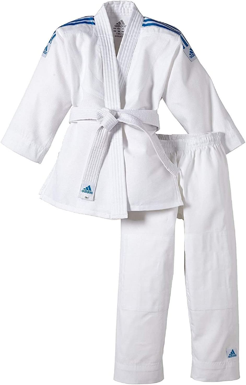 adidas Evolution Tenue de Judo pour Enfant Ceinture Incluse