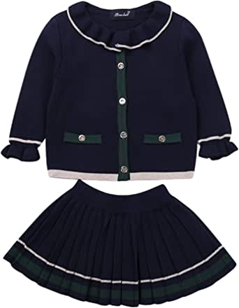 Fashion Plaid Skirt for 0-3 Years Toddler Newborn Kids Casual Skirt Short Dresses