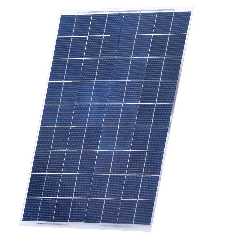 geeignet f/ür Autobatterien Flugzeuge und Satelliten 30 Watt Solarpanel polykristallines Flexibles Solarpanel tragbares Schiffe wasserdichtes 12-V-Solarpanel-Kit mit 30 W