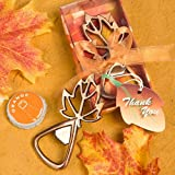 <em>Autumn Magic Collection</em> Leaf Design Bottle Openers - 120 count