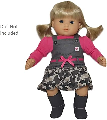 Doll Not Included American Girl Bitty Baby Twins Butterfly Dress Outfit for 15 Dolls