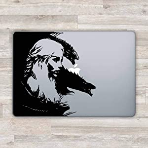 Game of Thrones MacBook Decal MacBook Sticker Laptop Decal Laptop Sticker MacBook Retina MacBook 13 Inch Pro Retina Daenerys Dragon Z