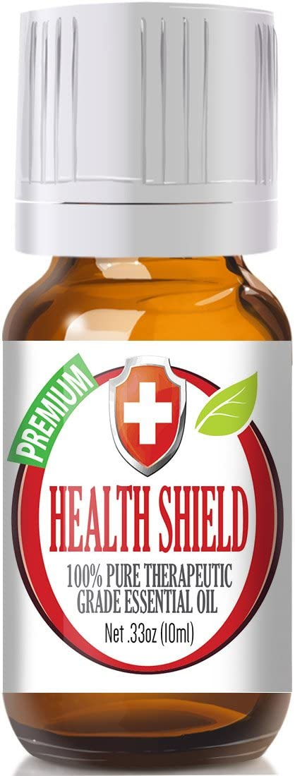 Health Shield Essential Oil Blend - 100% Pure Therapeutic Grade Health Shield Blend Oil - 10ml