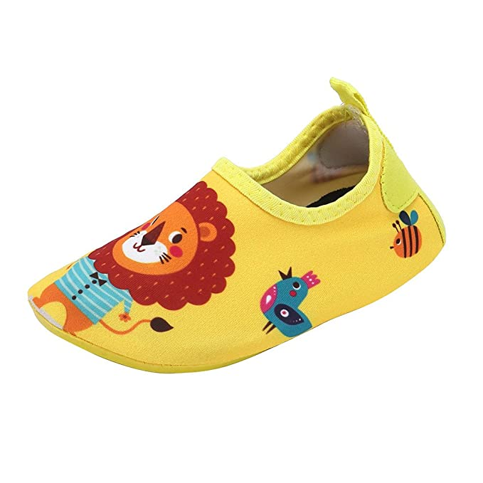 Naturazy Zapatos Sandalias Zapatillas Verano con Suela Antideslizante Suave Primeros Pasos Kid Baby Girls Surf Beach Snorkel Calcetines Natación Buceo ...