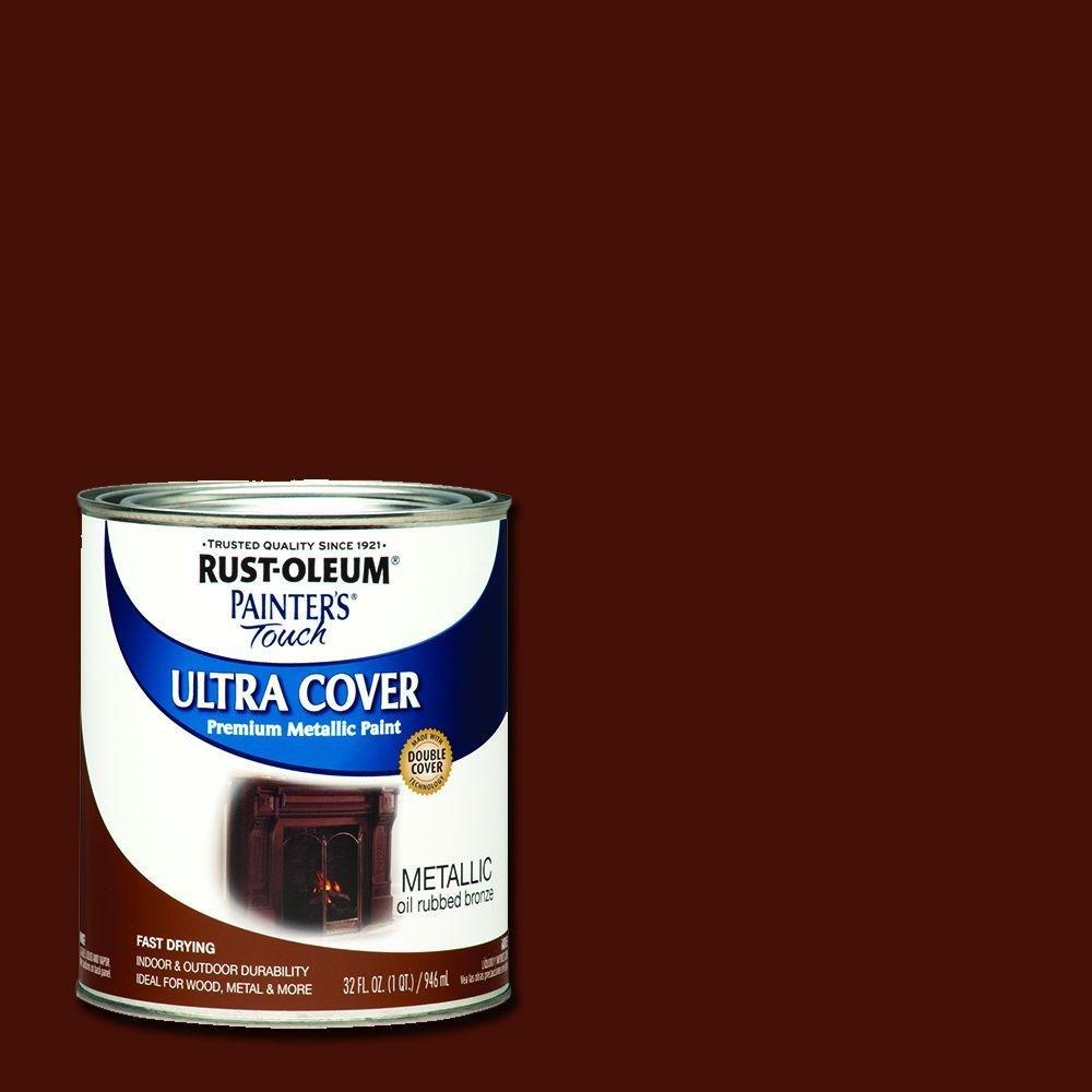 Rust-Oleum Painter's Touch 32-oz. Metallic Oil Rubbed Bronze General Purpose Paint (2-Pack)