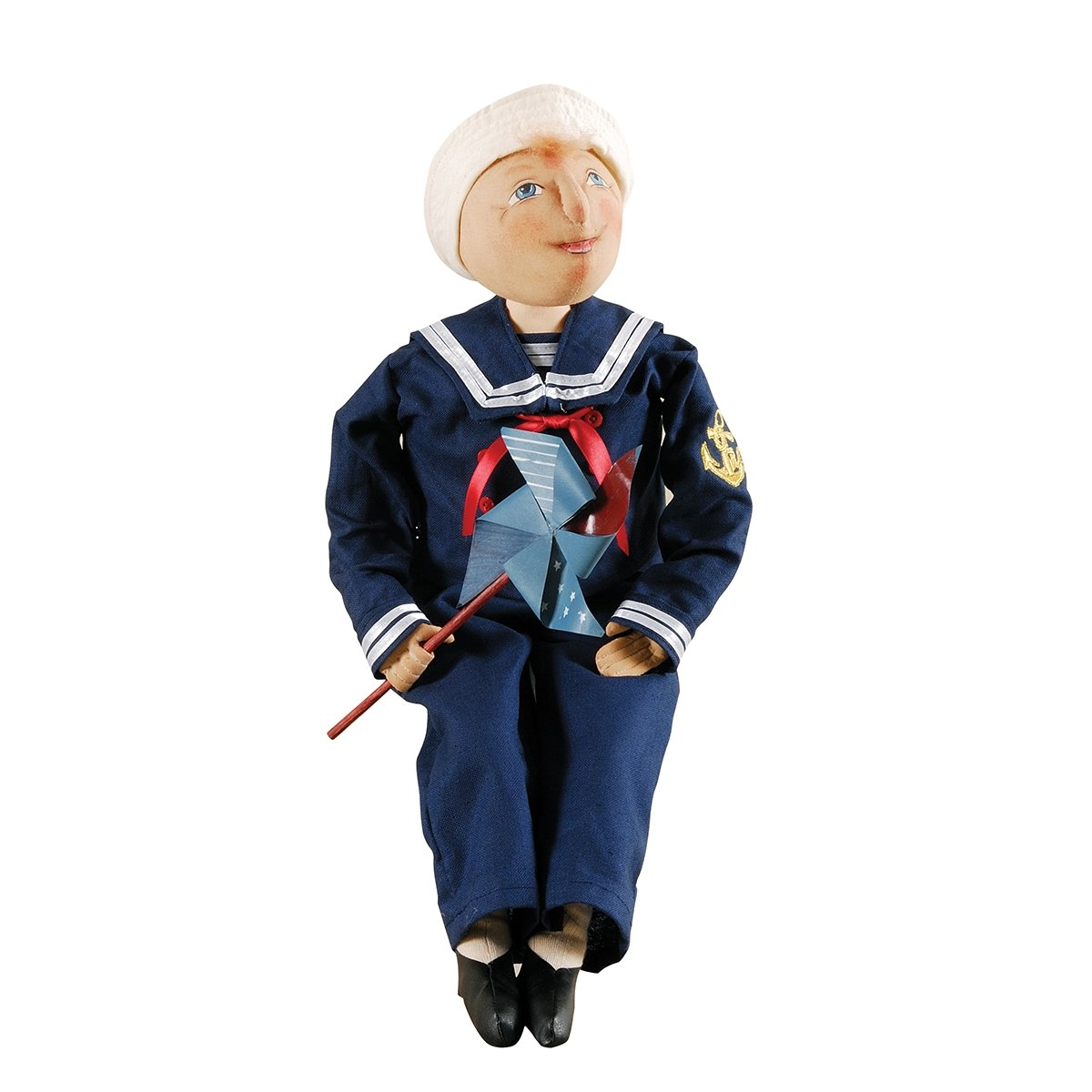Sailor Boy, ''Sid'' Figure, Soft Sculpture Doll