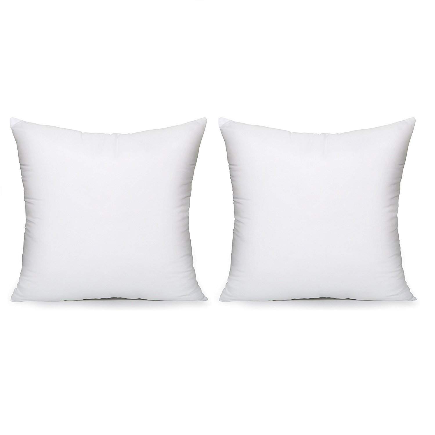 Acanva Hypoallergenic Pillow Insert Form, 14-2P, White by Acanva
