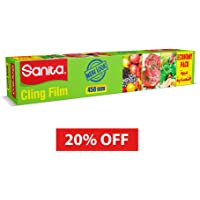 SANITA CLING FILM ECO PACK  45CMx300M 1 ROLL at 20% OFF