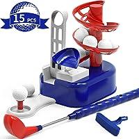 iPlay, iLearn Kids Golf Toys Set, Outdoor Lawn Sport Toy, Training Golf Balls &...
