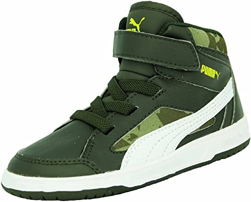 puma enfant chaussures vert