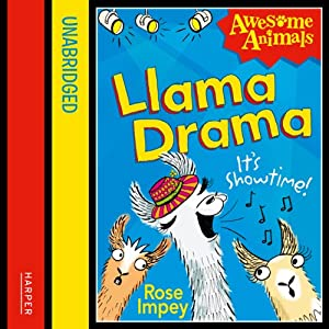 Awesome Animals: Llama Drama Audiobook