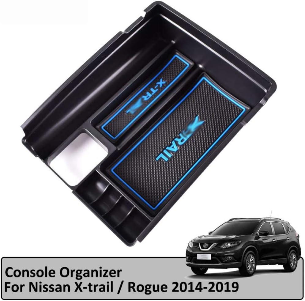 Auto Zentralkonsole Armlehne Aufbewahrungsbox Fach Zentral Aufbewahrungskoffer Box Autozubeh/ör Auto Styling TAYDMEO /F/ür Nissan X-Trail T32 2014-2020