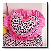 DIAIDI - Princess Throw Pillow - Sweet Heart Decorative Throw Pillow
