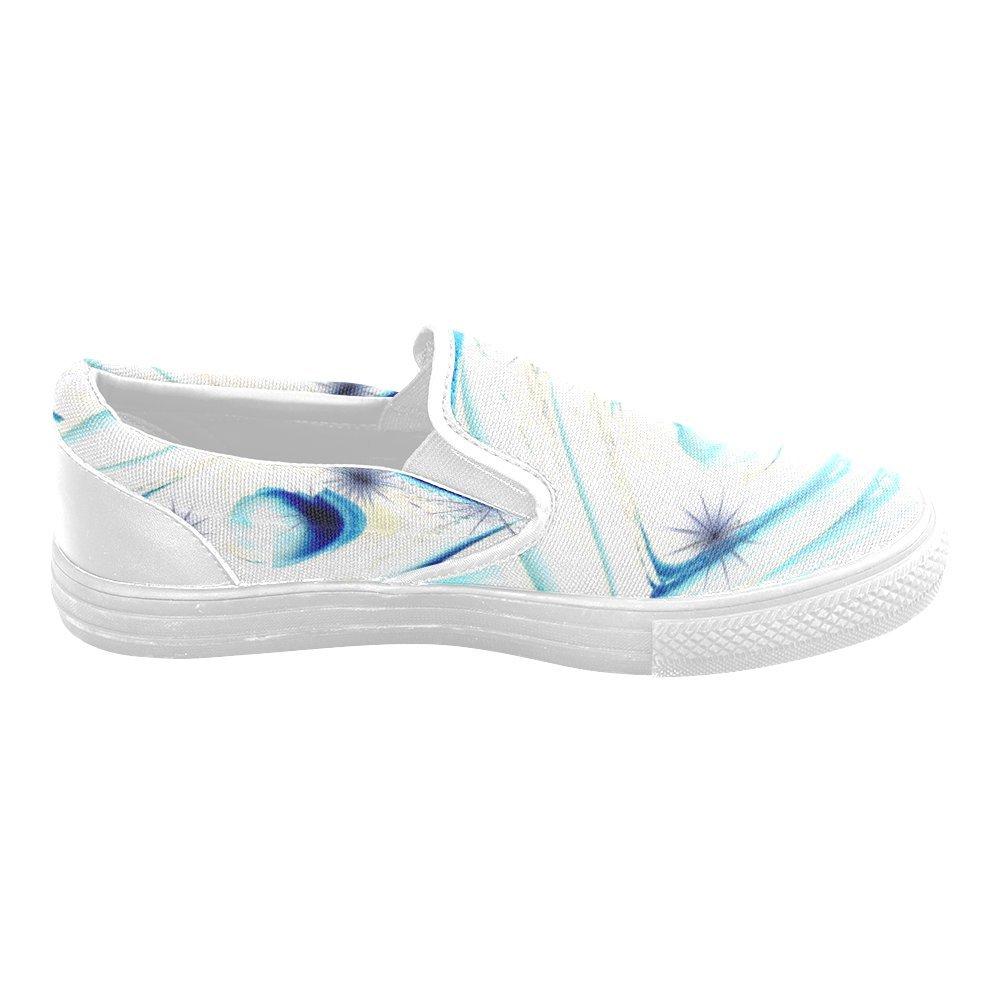Custom Unusual Slip-on Canvas Shoes The Medieval Eye Jera Nour Unusual Slipon Canvas Shoes for Men