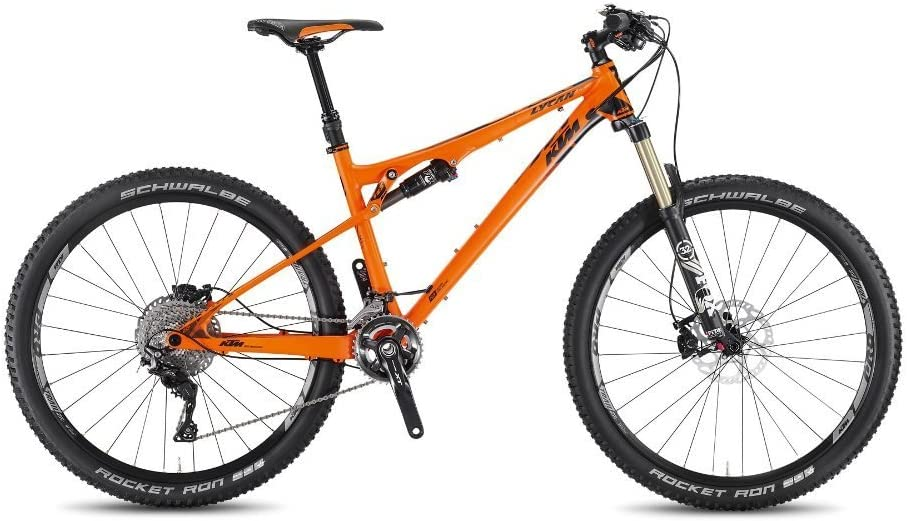 KTM Lycan 272 Mountain Bike, 2016, Naranja Negro Mate, RH 43, 12 ...