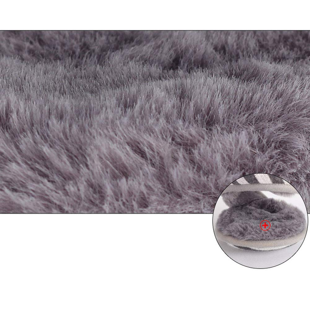 CHUANGLI Winter Warm Kint Fleece Earmuffs with Thick Plush Earwarmer Adjustable Warp for Men Women