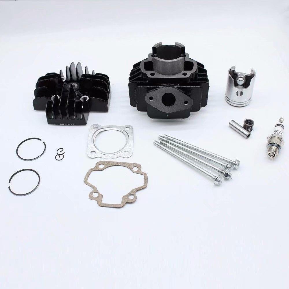 For Yamaha PW50 1979-2009 Piston Kit Rings Gasket Pin Circlip Kit Motorcycle