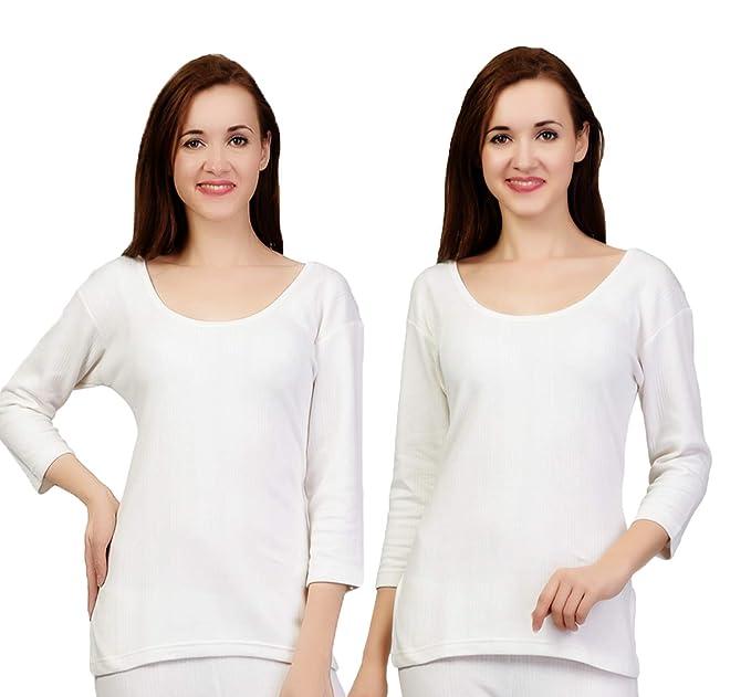d4e27d3cd42 ZIMFIT Cotton Women s or Girls Winter wear Full Sleeves Thermal ...