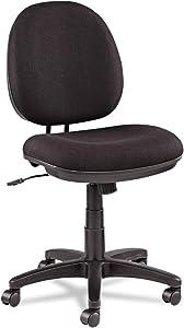 Alera IN4811 Alera Interval Swivel/Tilt Task Chair, 100% Acrylic, Black