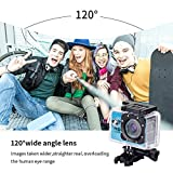 Yuntab-Action-Camera-Sport-DV-720P-Mini-30-Meter-Waterproof-2-inch-TFT-LCD-HD-5MP-Helmet-Camera-Cam-Extreme-Action-Camcorder-With-Battery-Charger-and-Accessories