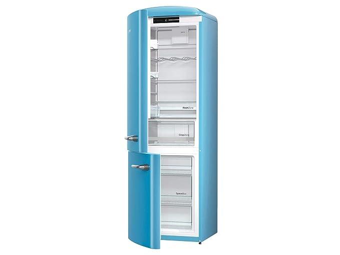 Gorenje ORK192BL-L nevera y congelador Independiente Azul 322 L A ...