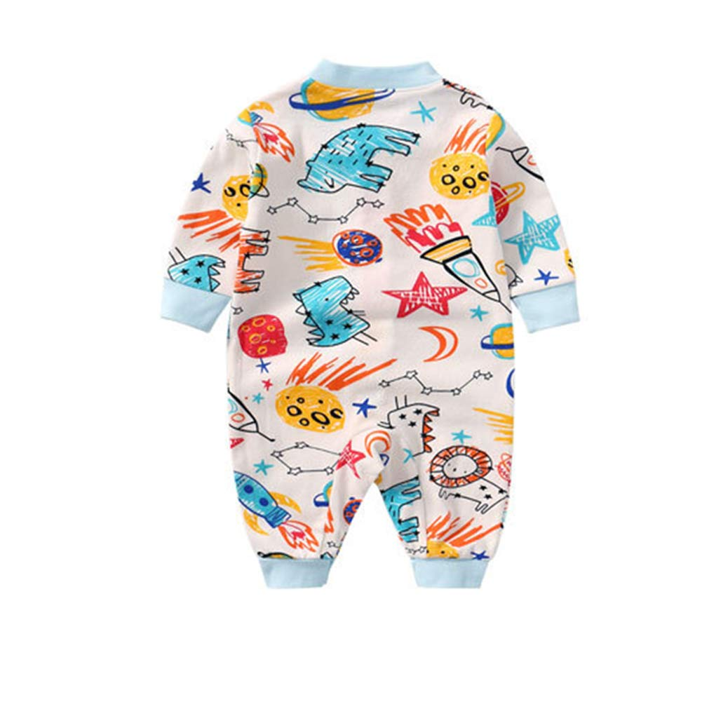 DANROL Baby Unisex Long Sleeve Soft 100/% Cotton Rompers