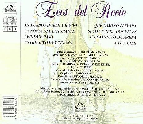 Ecos del Rocío con la guitarra de Vicente Amigo: Ecos del Rocío ...