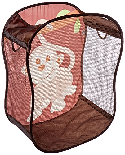 - Starting Small Monkey Novelty Hamper in Brown,  18 x 11 x 24