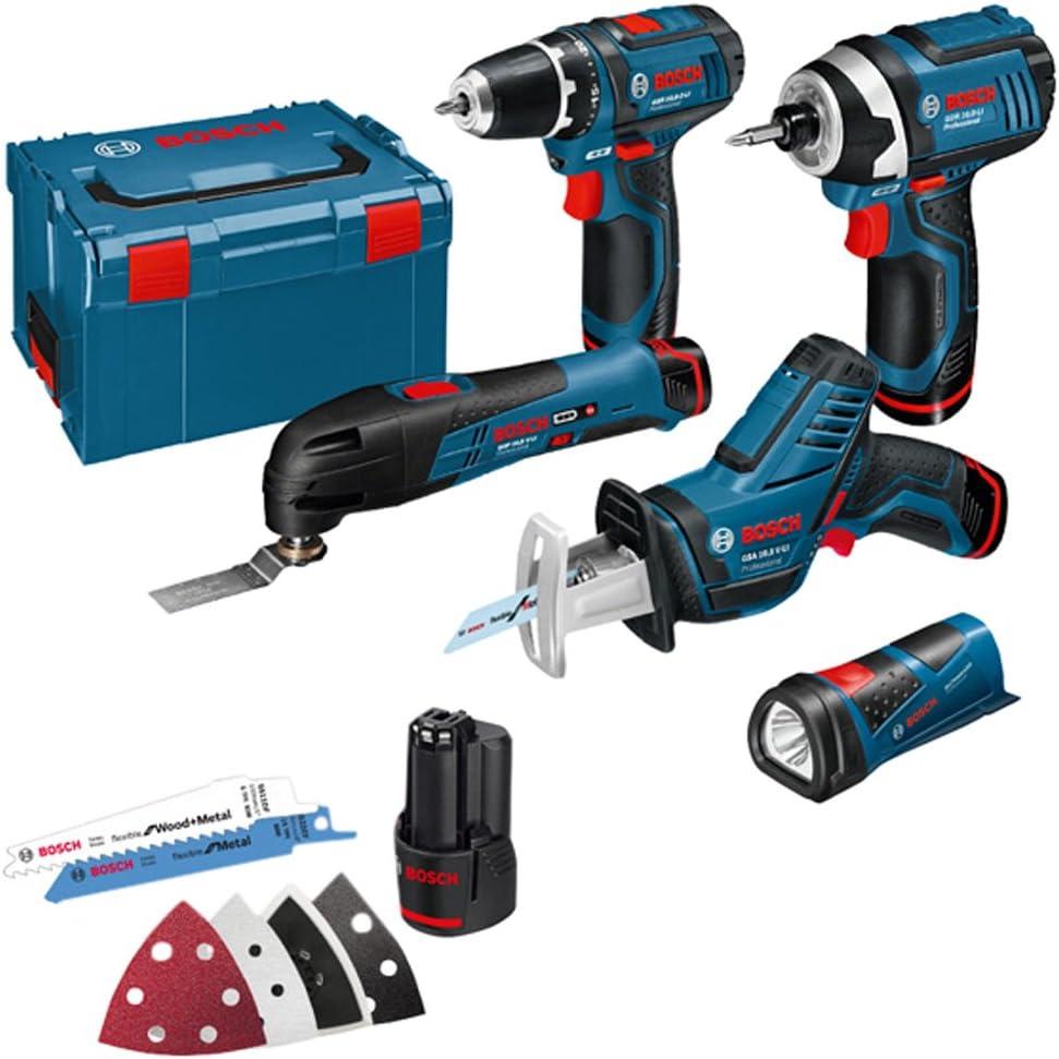 BOSCH KIT 12V (5 herramientas): Amazon.es: Bricolaje y herramientas
