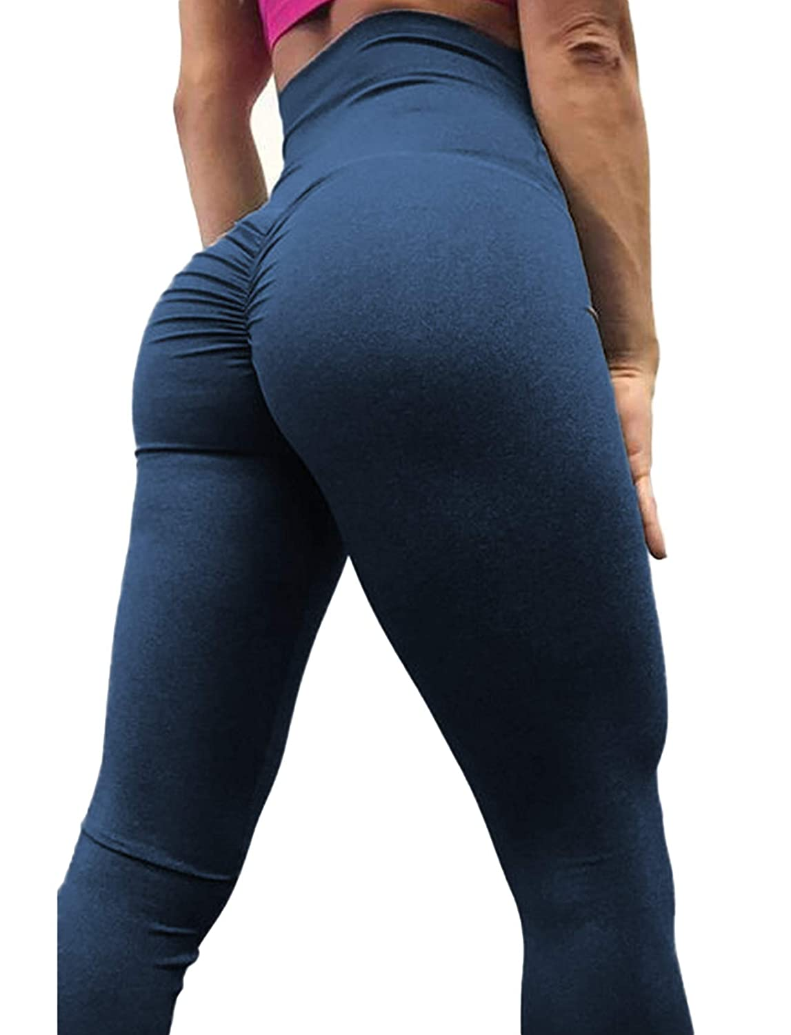 a8586d94bfd87e Product Information - High waist butt Lift Push Up Leggings; Featuring our  Amazing Scrunch Booty to make your curves pop!Sexy Yoga Pants Shapewear  Skinny ...
