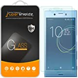"[2-Pack] Supershieldz for Sony ""Xperia XZ1 Compact"" Tempered Glass Screen Protector, Anti-Scratch, Anti-Fingerprint, Lifetime Replacement Warranty"