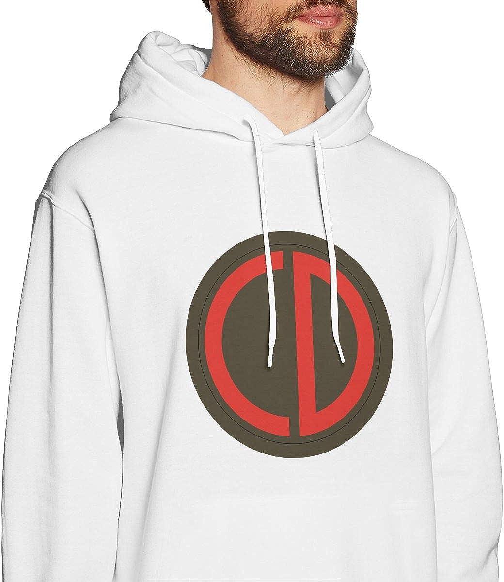 85th Division SSI Mens Hooded Sweatshirt Theme Printed Fashion Hoodie
