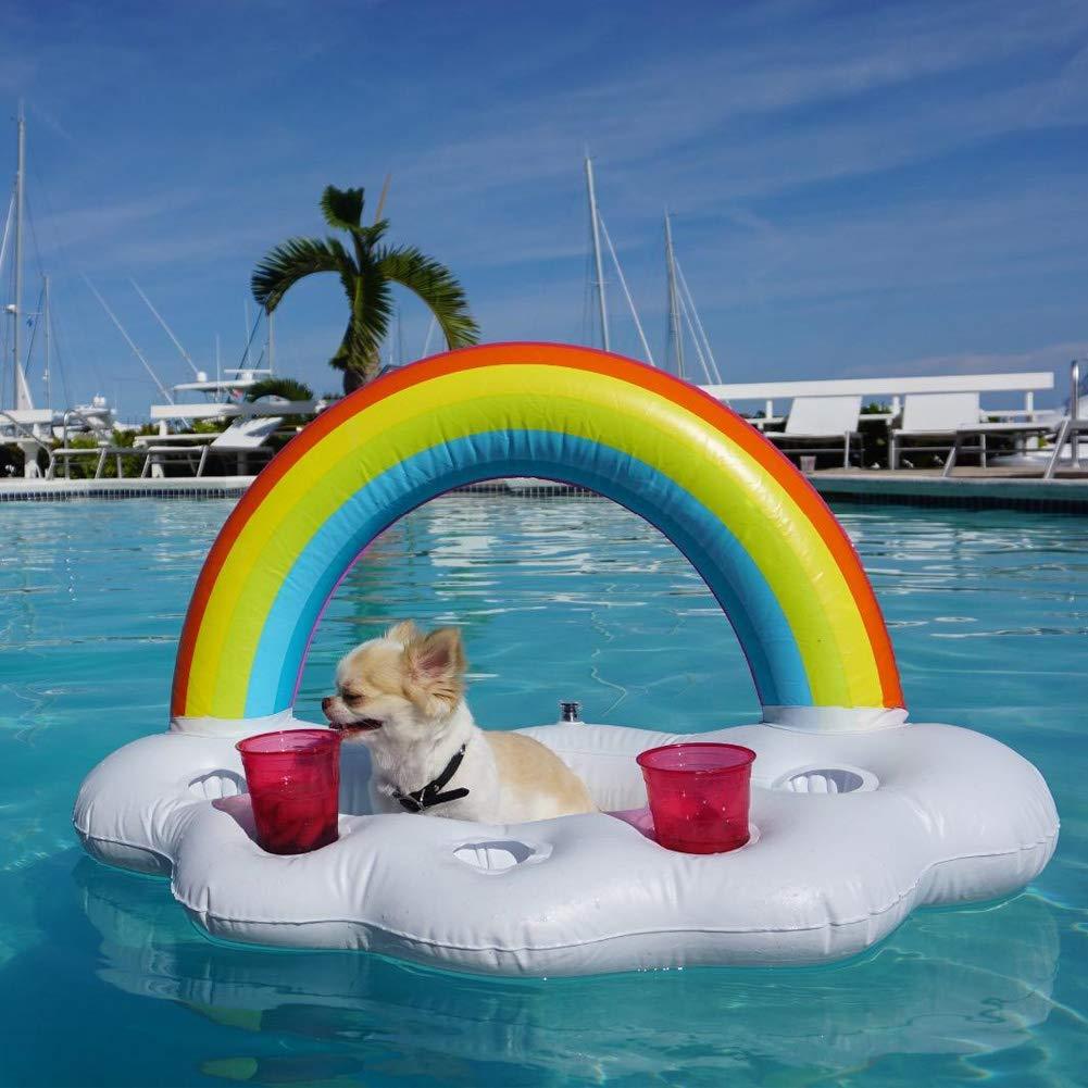 Amazon.com: Yuccer Drink Floats, Pool Drink Holder Floats ...