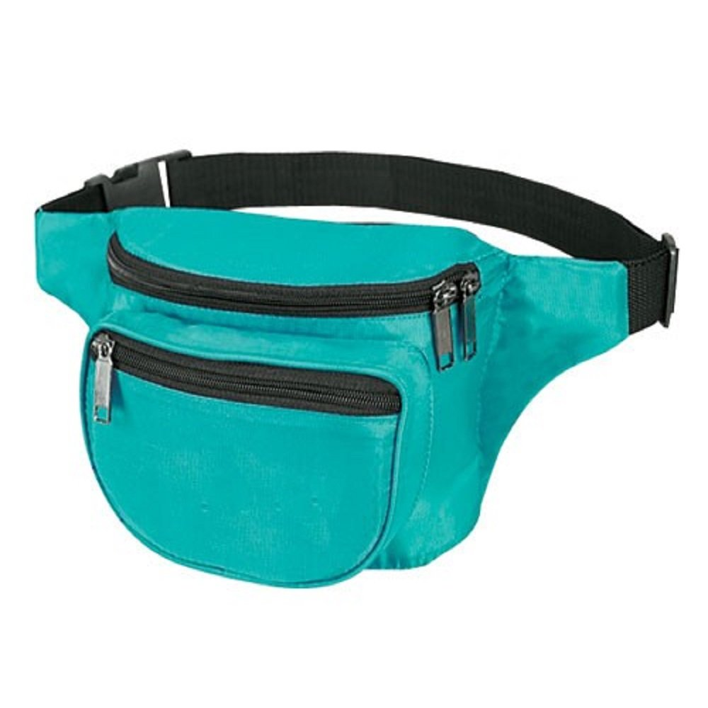 Yens Fantasybag 3-Zipper Fanny Pack Sports, Running and Fitness Expandable Weather Resistant Waist, FN-03