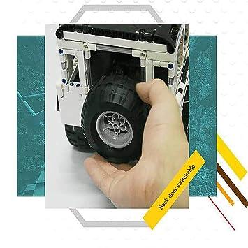 MZL Muzili:Bloques de construcción eléctricos para Escalar Todo Terreno,simulación de Carreras,Rompecabezas de ortografía, Bloques de construcción,Juguetes ...